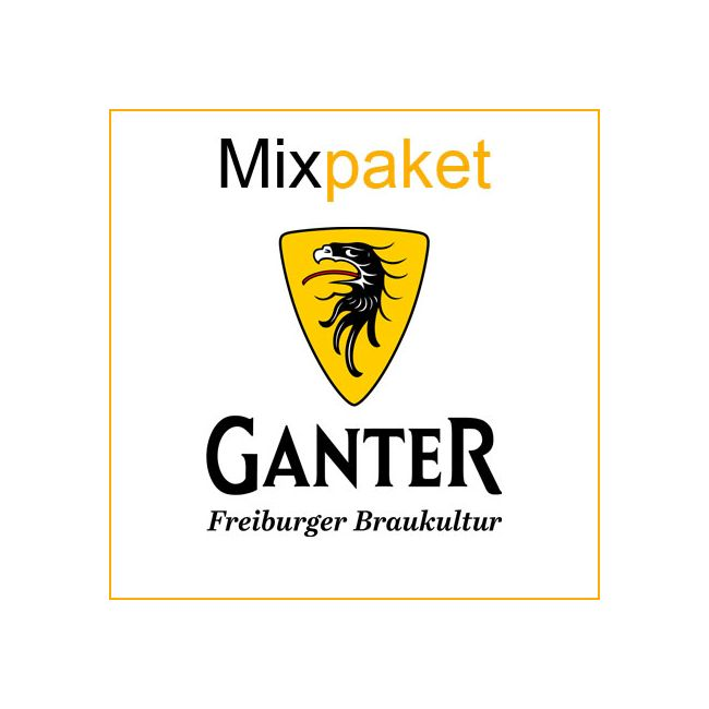 Ganter Mix Bierpaket