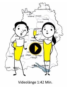 """Jetzt das """"Einfach besser - Bier aus Baden-Württemberg"""" Video auf YouTube anschauen!"""