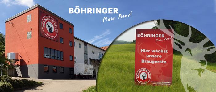 Böhringer Biere Hirschbrauerei Schilling